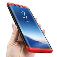 Недорогие Чехлы и кейсы для Galaxy S7-Кейс для Назначение SSamsung Galaxy S9 S9 Plus Защита от удара Ультратонкий Чехол Однотонный Твердый ПК для S9 Plus S9 S8 Plus S8 S7 edge