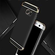 olcso Galaxy S7 Edge tokok-Case Kompatibilitás Samsung Galaxy S8 Plus S8 Galvanizálás Ultra-vékeny Héjtok Tömör szín Kemény PC mert S8 Plus S8 S7 edge S7