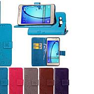 halpa Puhelimen kuoret-Etui Käyttötarkoitus Huawei P20 lite P20 Pro Flip Koristeltu Suojakuori Mandala Perhonen Kova PU-nahka varten Huawei P20 lite Huawei P20