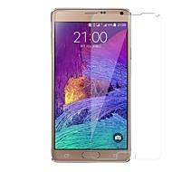Недорогие Чехлы и кейсы для Galaxy Note-Защитная плёнка для экрана для Samsung Galaxy Note 4 Закаленное стекло 1 ед. Защитная пленка для экрана Уровень защиты 9H / Защита от царапин