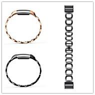 Недорогие Аксессуары для смарт-часов-Ремешок для часов для Fitbit Charge 2 Fitbit Спортивный ремешок Нержавеющая сталь Повязка на запястье