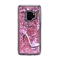 Недорогие Чехлы и кейсы для Galaxy S8 Plus-Кейс для Назначение SSamsung Galaxy S9 Plus / S9 Движущаяся жидкость Кейс на заднюю панель Соблазнительная девушка Мягкий ТПУ для S9 / S9 Plus / S8 Plus