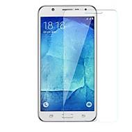 お買い得  Samsung 用スクリーンプロテクター-スクリーンプロテクター のために Samsung Galaxy J5 強化ガラス 1枚 スクリーンプロテクター 硬度9H / 傷防止