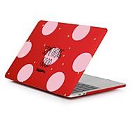 """お買い得  MacBook 用ケース/バッグ/スリーブ-MacBook ケース ワード/文章 プラスチック のために 新MacBook Pro 15"""" / 新MacBook Pro 13"""" / MacBook Pro 15インチ"""