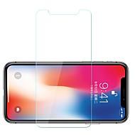 Screenprotector voor Apple iPhone X Gehard Glas 1 stuks Voorkant screenprotector 9H-hardheid / Explosieveilige