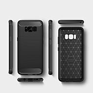 Недорогие Чехлы и кейсы для Galaxy S7-Кейс для Назначение SSamsung Galaxy S8 Plus S8 Защита от удара Кейс на заднюю панель Сплошной цвет Мягкий ТПУ для S8 Plus S8 S7 edge S7