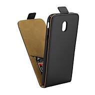 Недорогие Чехлы и кейсы для Galaxy J-Кейс для Назначение SSamsung Galaxy J7 (2017) Бумажник для карт / Флип Чехол Однотонный Мягкий Кожа PU для J7 (2017)