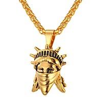 お買い得  -ペンダントネックレス  -  ファッション ゴールド, シルバー 55 cm ネックレス ジュエリー 用途 日常