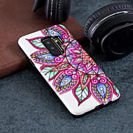 Недорогие Чехлы и кейсы для Galaxy S9-Кейс для Назначение SSamsung Galaxy S9 Plus / S9 С узором Кейс на заднюю панель Цветы Твердый ПК для S9 / S9 Plus / S8 Plus