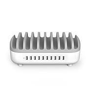 Недорогие Smart Plug-NTONPOWER Офис / Дом / офис / Для iPad Подставочные тарелки 10 USB порта for 5V