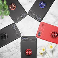 preiswerte Handyhüllen-Hülle Für Huawei Nova 2 / nova 2s Ring - Haltevorrichtung Rückseite Solide Weich TPU für Y9 (2018)(Enjoy 8 Plus) / Y7 Prime (2018) / Nova