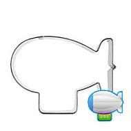 お買い得  キッチン用小物-風船船飛行クッキーカッターステンレスケーキ金型キッチン