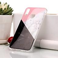 お買い得  携帯電話ケース-ケース 用途 Huawei P20 lite / P20 IMD / パターン バックカバー マーブル ソフト TPU のために Huawei P20 lite / Huawei P20 / P10 Lite