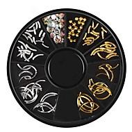 cheap -1pcs Nail Jewelry Metallic / Stylish Sparkling Daily Nail Art Design