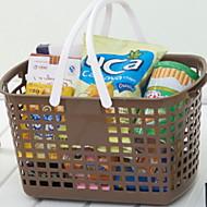 お買い得  浴室用小物-保存容器 使いやすい / 保存容器 コンテンポラリー / ファッション プラスチック 1個 バスルームの装飾