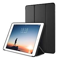 저렴한 -케이스 제품 Apple iPad (2018) / iPad Pro 10.5 스탠드 / 마그네틱 / 오리가미 전체 바디 케이스 솔리드 하드 PU 가죽 용 iPad (2018) / iPad 4/3/2 / iPad Air