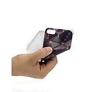 Недорогие Кейсы для iPhone 8 Plus-Кейс для Назначение Apple iPhone X / iPhone 7 Ультратонкий / С узором / Милый Кейс на заднюю панель Геометрический рисунок Мягкий ТПУ для