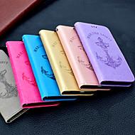 Недорогие Чехлы и кейсы для Galaxy S7-Кейс для Назначение SSamsung Galaxy S9 Plus / S9 Кошелек / Бумажник для карт / Флип Чехол Однотонный / Слова / выражения Твердый Кожа PU