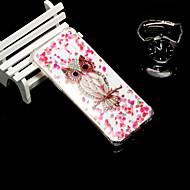 Недорогие Чехлы и кейсы для Galaxy S7-Кейс для Назначение SSamsung Galaxy S9 / S9 Plus Защита от удара / Полупрозрачный Кейс на заднюю панель Сова Мягкий ТПУ для S9 Plus / S9
