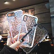 Недорогие Кейсы для iPhone 8 Plus-Кейс для Назначение Apple iPhone X / iPhone 8 Plus Защита от удара Чехол Однотонный Мягкий ТПУ для iPhone X / iPhone 8 Pluss / iPhone 8