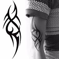 abordables Tatouages temporaires-5 pcs Tatouages Autocollants Tatouages temporaires Séries de totem Arts du Corps bras