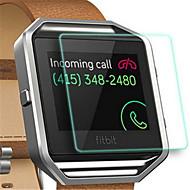 Недорогие Защитные пленки для смарт-часов-Защитная плёнка для экрана Назначение Fitbit Blaze Закаленное стекло Взрывозащищенный / Уровень защиты 9H / HD 1 ед.