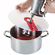 お買い得  キッチン用小物-キッチンツール シリコーン クリエイティブキッチンガジェット フードカバー 卵のための / パウダー / ミルク 1個