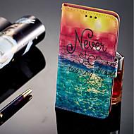 tanie Etui na telefony-Kılıf Na Huawei Honor 9 Lite Etui na karty / Portfel / Z podpórką Pełne etui Krajobraz Twarde Skóra PU na Huawei Honor 9 Lite / Honor