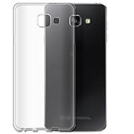Недорогие Чехлы и кейсы для Galaxy А-Кейс для Назначение SSamsung Galaxy A7(2016) Прозрачный Кейс на заднюю панель Однотонный Мягкий ТПУ для A7(2016)