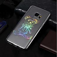 Недорогие Чехлы и кейсы для Galaxy S9 Plus-Кейс для Назначение SSamsung Galaxy S9 / S9 Plus Покрытие / С узором Кейс на заднюю панель Животное Мягкий ТПУ для S9 Plus / S9 / S8 Plus