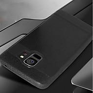 Недорогие Чехлы и кейсы для Galaxy S8 Plus-Кейс для Назначение SSamsung Galaxy S9 S9 Plus Матовое Кейс на заднюю панель Однотонный Мягкий ТПУ для S9 Plus S9 S8 Plus S8