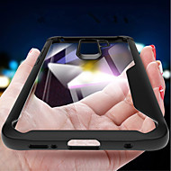 Недорогие Чехлы и кейсы для Galaxy S9-Кейс для Назначение SSamsung Galaxy S9 Plus / S9 Защита от удара / Зеркальная поверхность / Прозрачный Кейс на заднюю панель Однотонный