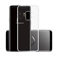 Недорогие Чехлы и кейсы для Galaxy S-Кейс для Назначение SSamsung Galaxy S9 Прозрачный Кейс на заднюю панель Однотонный Мягкий ТПУ для S9