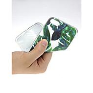 Недорогие Кейсы для iPhone 8 Plus-Кейс для Назначение Apple iPhone X / iPhone 7 Ультратонкий / С узором / Милый Кейс на заднюю панель Пейзаж Мягкий ТПУ для iPhone X / iPhone 8 Pluss / iPhone 8