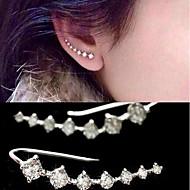 お買い得  -女性用 ドロップイヤリング  -  人造真珠, キュービックジルコニア ゴールド / シルバー 用途