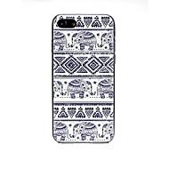 Недорогие Кейсы для iPhone 8 Plus-Кейс для Назначение Apple iPhone X / iPhone 7 Ультратонкий / С узором / Милый Кейс на заднюю панель Плитка Мягкий ТПУ для iPhone X /