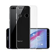 お買い得  携帯電話ケース-ケース 用途 Huawei Honor 9 Lite クリア バックカバー ソリッド ソフト TPU のために Huawei Honor 9 Lite