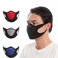 Máscara Desportiva Máscara Facial Vermelho Azul Cinzento Respirável Á Prova-de-Pó Ciclismo / Moto Moto Caminhada Unisexo Retalhos Veludo Lycra / Ciclismo de Montanha / Ciclismo de Estrada