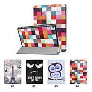 cheap -Case For Huawei MediaPad M3 Lite 10 with Stand / Ultra-thin Full Body Cases Word / Phrase / Eiffel Tower / Animal Hard PU Leather for