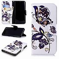 Недорогие Чехлы и кейсы для Galaxy S8 Plus-Кейс для Назначение SSamsung Galaxy S9 Plus / S8 Кошелек / Бумажник для карт / со стендом Чехол Панда Твердый Кожа PU для S9 / S8 Plus