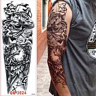 abordables Tatuajes Temporales-Adhesivo / Pegatina tatuaje brazo Los tatuajes temporales 3 pcs Serie de dibujos animados Artes de cuerpo