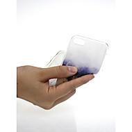 Недорогие Кейсы для iPhone 8 Plus-Кейс для Назначение Apple iPhone X / iPhone 7 Ультратонкий / С узором / Милый Кейс на заднюю панель Градиент цвета Мягкий ТПУ для iPhone
