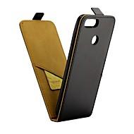 preiswerte Handyhüllen-Hülle Für Huawei Honor 7X Kreditkartenfächer / Flipbare Hülle Ganzkörper-Gehäuse Solide Hart PU-Leder für Honor 7X