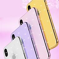 Недорогие Кейсы для iPhone 8 Plus-Кейс для Назначение Apple iPhone 8 / iPhone 8 Plus Стразы / Сияние и блеск Кейс на заднюю панель Геометрический рисунок / Сияние и блеск