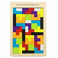cheap Toy & Game-Wooden Puzzle Creative / Geometric Pattern Wooden 42 pcs Preschool All Gift