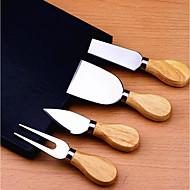 お買い得  キッチン用小物-キッチンツール ステンレス キッチンツールアクセサリー ツール カッター / へら チーズのための 4本