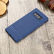 Недорогие Чехлы и кейсы для Galaxy Note-Кейс для Назначение SSamsung Galaxy Note 8 Ультратонкий Кейс на заднюю панель Однотонный Мягкий ТПУ для Note 8