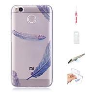 お買い得  携帯電話ケース-ケース 用途 Xiaomi Redmi 4X パターン バックカバー 風景 ソフト TPU のために Xiaomi Redmi 4X