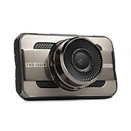 Недорогие Видеорегистраторы для авто-3-дюймовый автомобиль dvrtft lcd hd 1080p с поворотом 140 градусов ультра широкоугольный двойной объектив тире камера автомобиль цифровой видеомагнитофон видеокамера