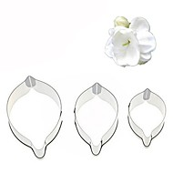 cheap -Bakeware tools Stainless Steel Creative / DIY For Cake / For Cookie / For Chocolate Cake Molds / Cookie Cutters / Dessert Tools 3pcs